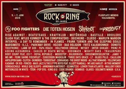 Rock Am Ring Line-up
